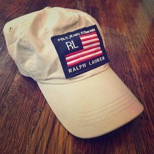 Ralph Lauren American Flag Baseball Cap ⚾️ 🧢